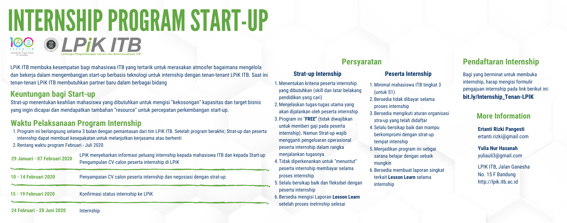 Program Magang Start-up