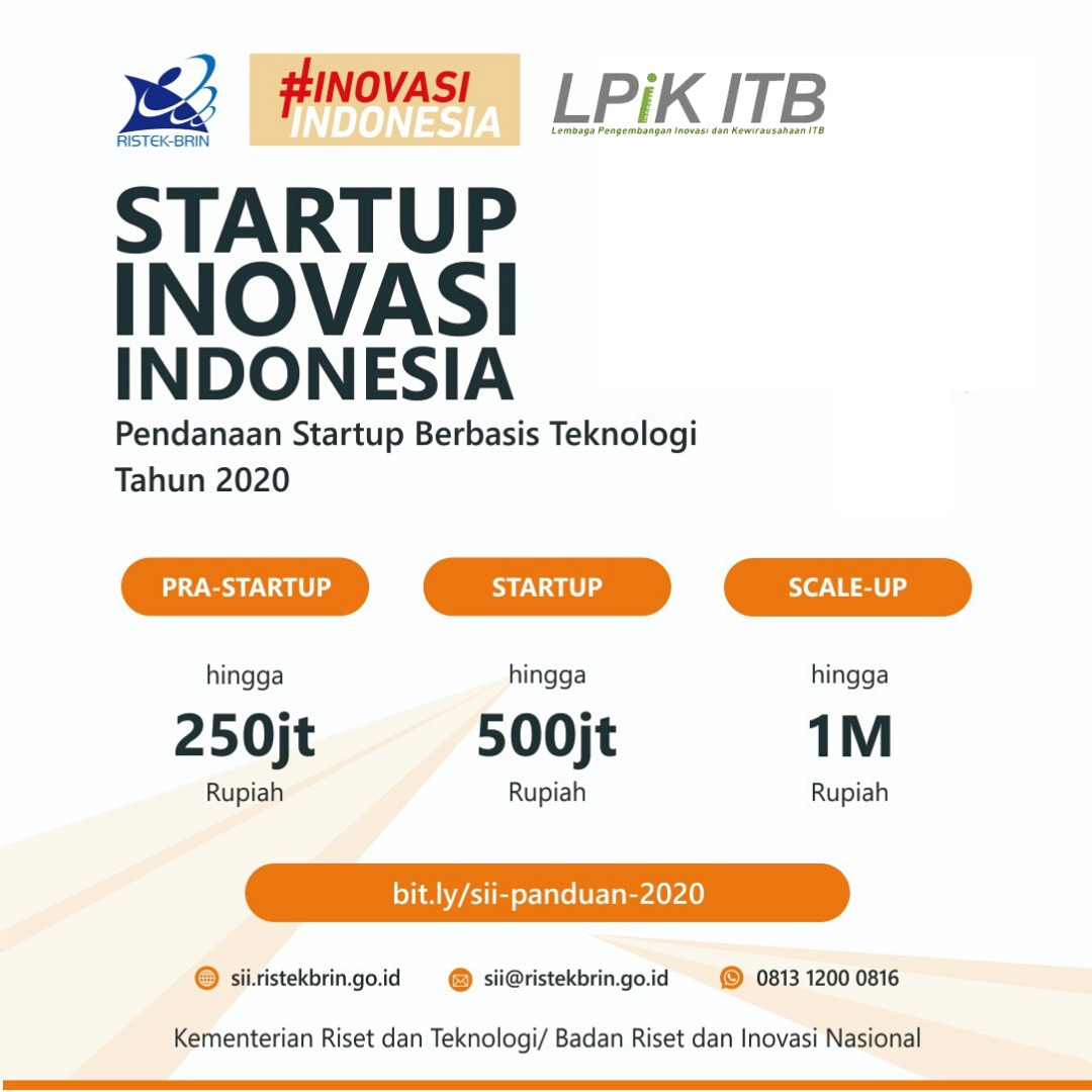 [EXTENDED] Startup Inovasi Indonesia: PPBT, C...