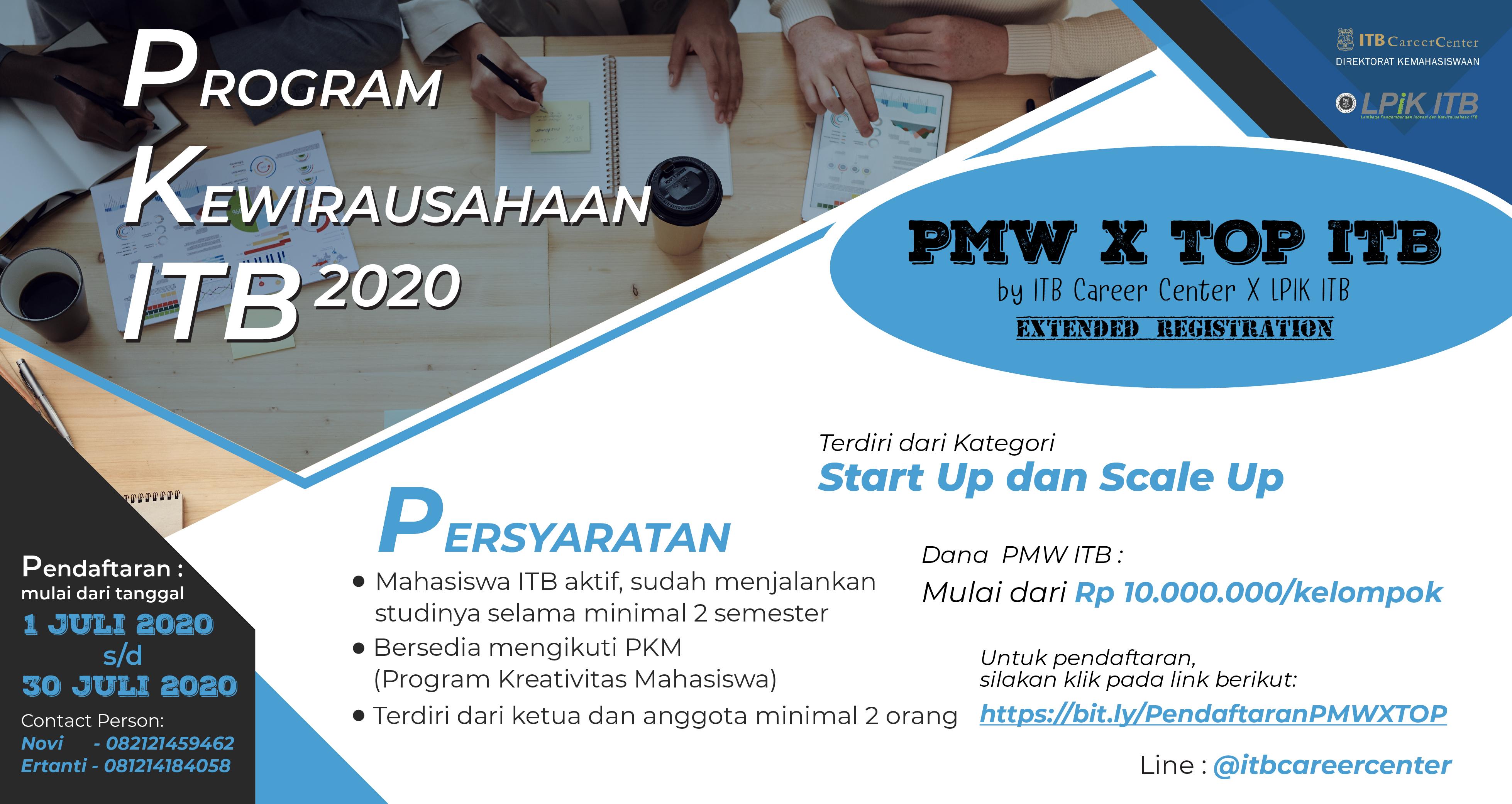 PMW X TOP ITB 2020