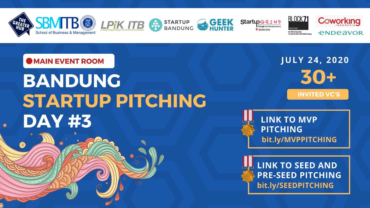 Bandung Pitching Day 2020 Berhasil Terselengg...