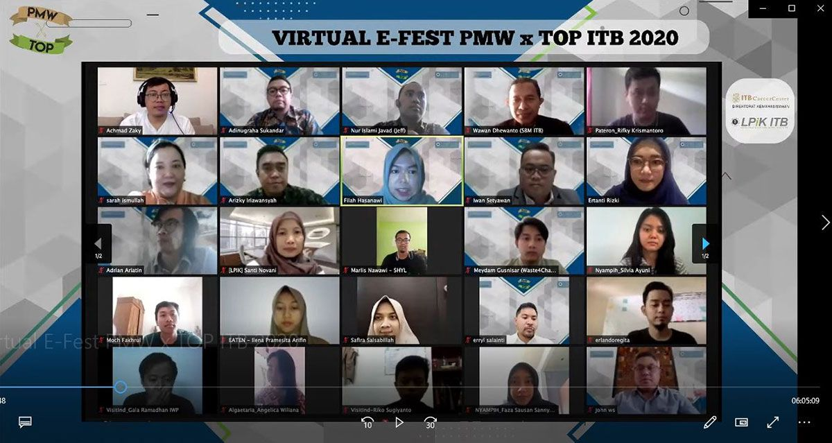 Virtual Entrepreneurship Festival (E-Fest) PM...