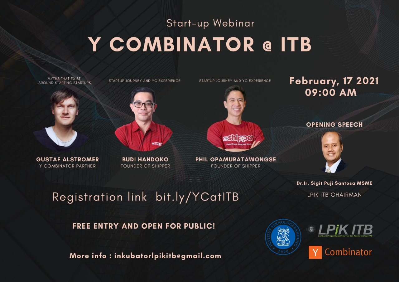 Y Combinator @ Bandung Institute of Technolog...
