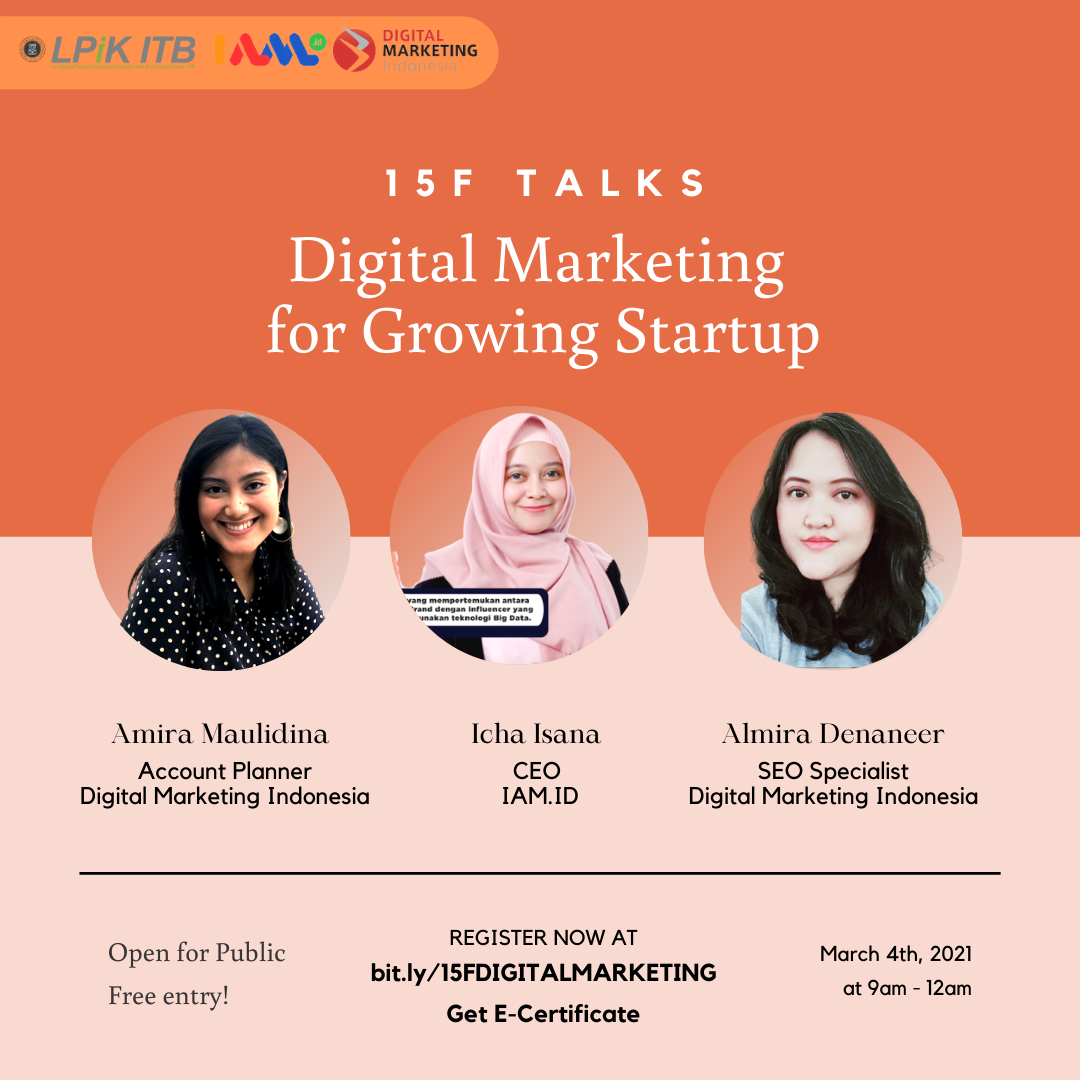 15F Talks: Digital Marketing for Growing Star...